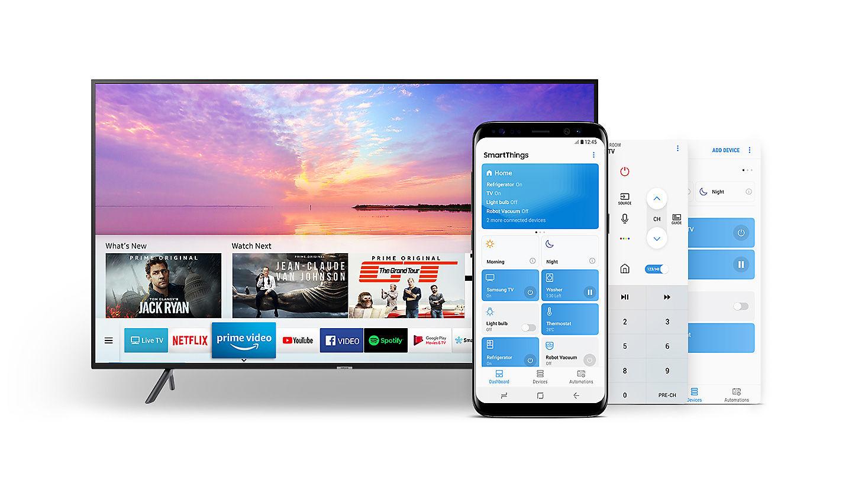 ทีวี SAMSUNG รุ่น UA55NU7100KXXT UHD TV 55 นิ้ว