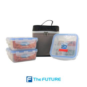 กล่อง Super Lock พร้อมกระเป๋า เซต DDD ที่ The Future