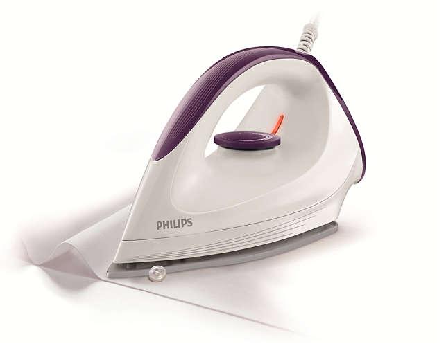 เตารีด Philips ออกแบบมาให้สามารถรีดได้ทุกซอก ทุกมุมของเสื้อผ้า