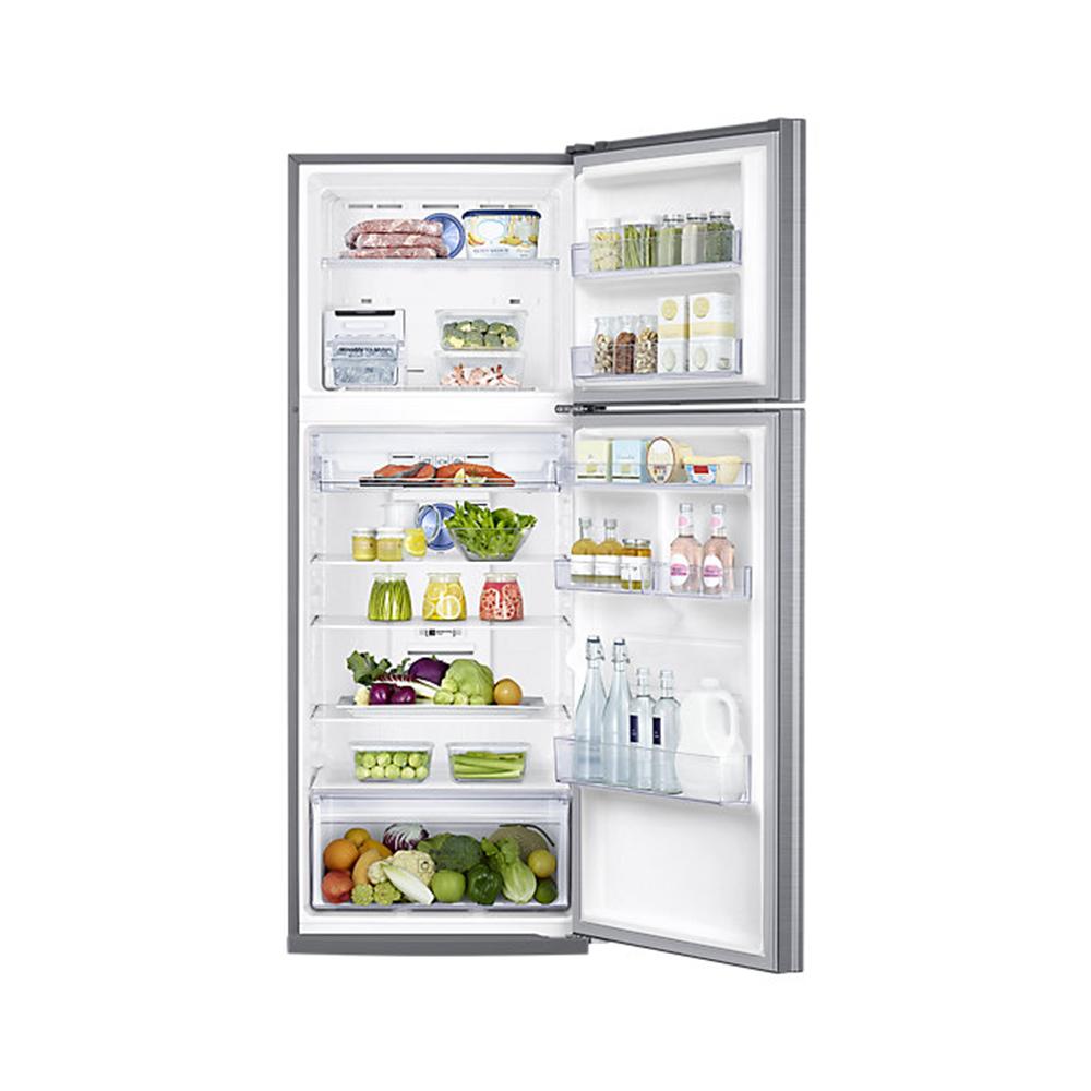 เปิดประตูตู้เย็น 2 ประตู Samsung 13.5 คิว