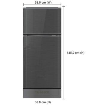 ตู้เย็น Sharp รุ่น SJ-C19E 2 ประตู ขนาด 5.9 คิว