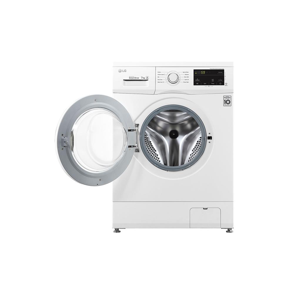สั่งซื้อเครื่องซักผ้า LG เครื่องซักผ้าฝาหน้า 7 กก.