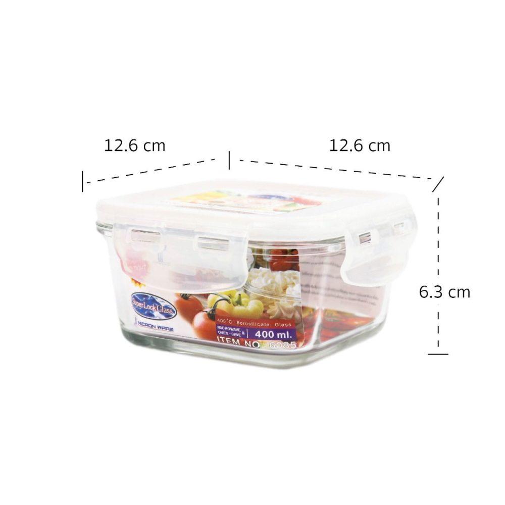 กล่องใส่อาหารแบบแก้ว รุ่น 6085