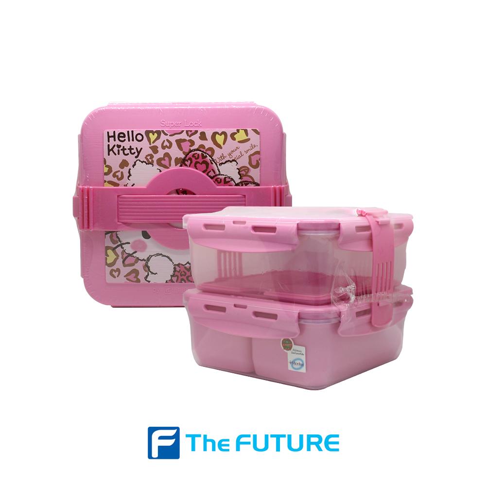 ชุดกล่องอาหารปิ่นโต Super Lock รุ่น #5011-B ที่ The Future