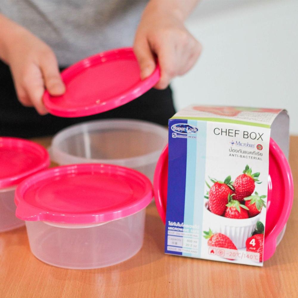 กล่องใส่อาหารป้องกันแบคทีเรีย