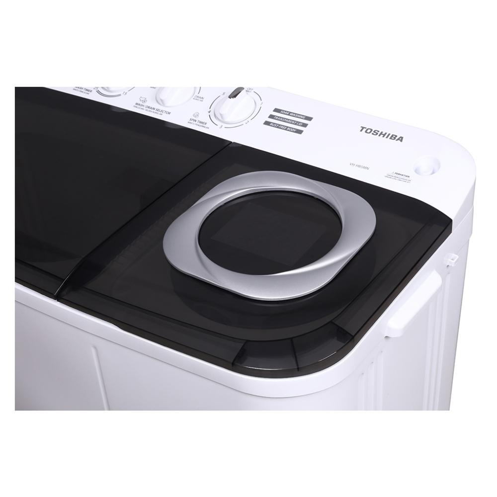 เครื่องซักผ้า Toshiba 2 ถัง 8.5 กก.
