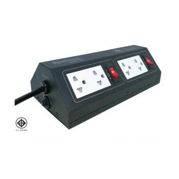 ปลั๊กลดทอนไฟกระชากชั่วขณะ เนื่องจากฟ้าผ่า ปลั๊กไฟ Savetronics
