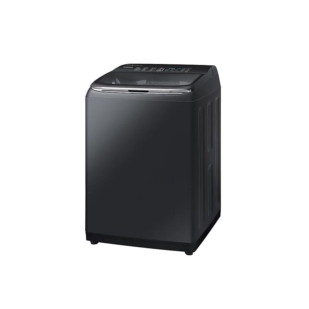 เครื่องซักผ้าฝาบน Samsung ความจุ 18 กก. สีดำ