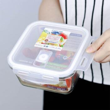 กล่องใส่อาหาร Superlock แบบแก้ว เข้าไมโครเวฟได้