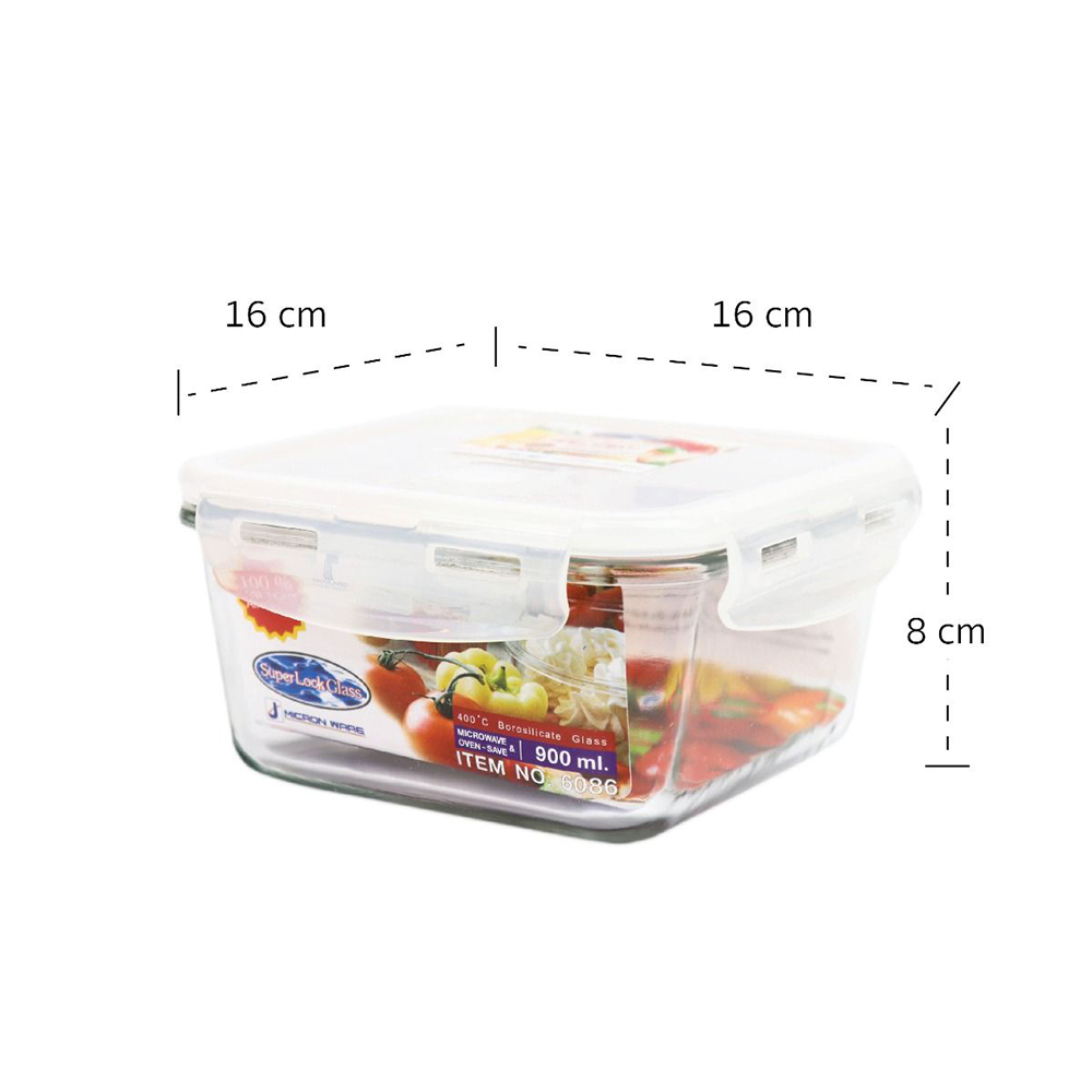 กล่อง Superlock กล่องแก้วใส่อาหาร