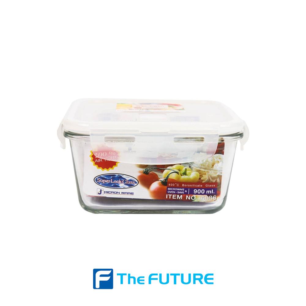 กล่องถนอมอาหาร แบบแก้ว