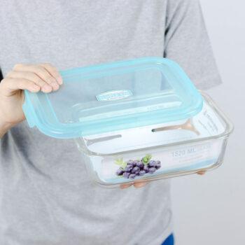 กล่องถนอมอาหาร Superlock แบบแก้ว