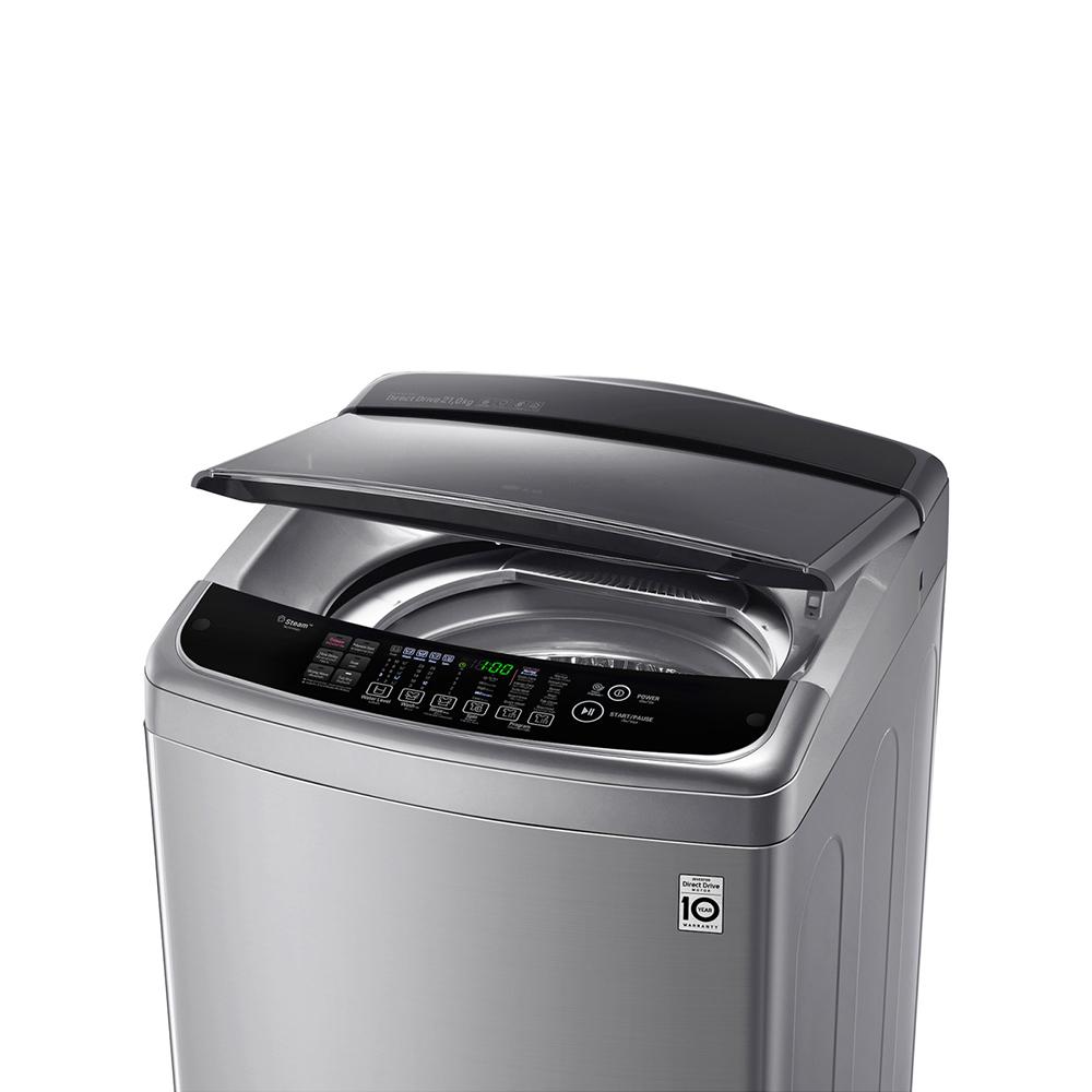 LG เครื่องซักผ้าฝาบน ความจุ 21 กก.