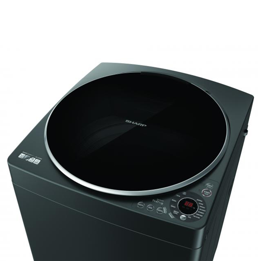 เครื่องซักผ้า Sharp 11 กก. รุ่น ES-W11HT
