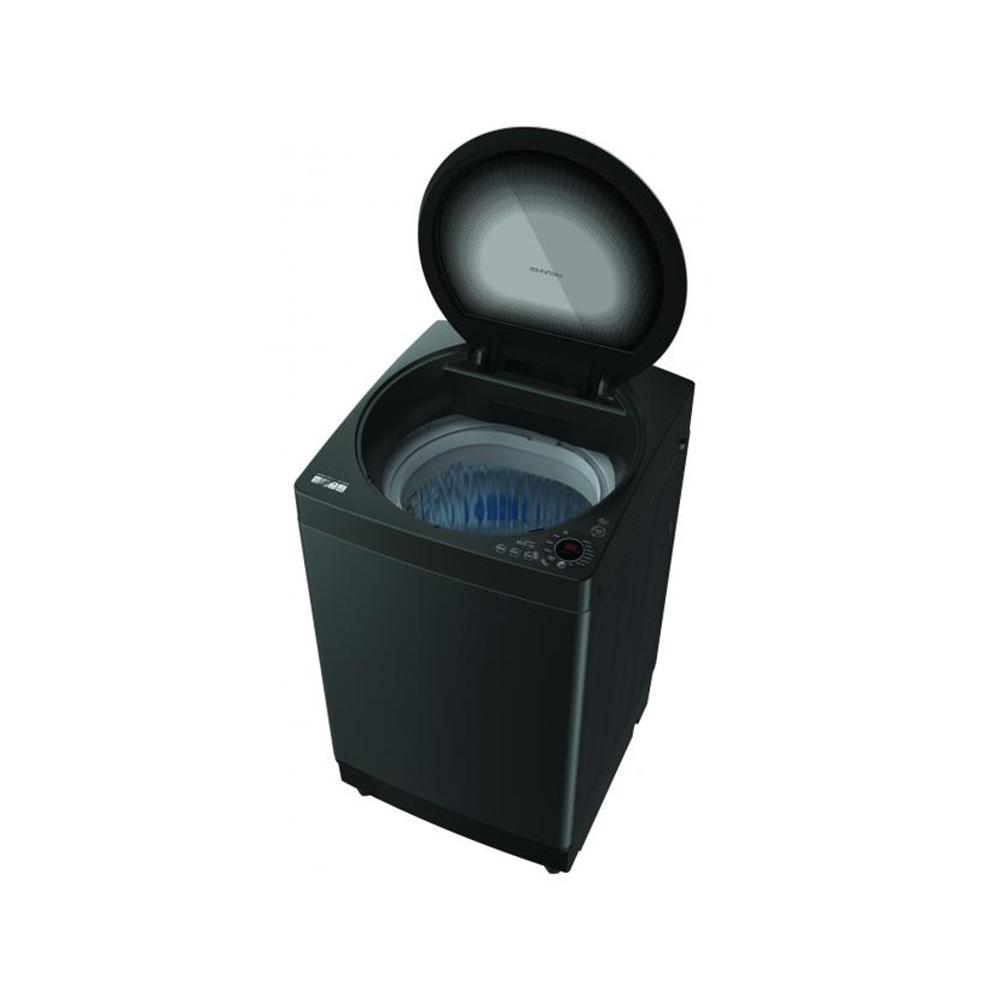 เครื่องซักผ้าฝาบน Sharp 10 กก. รุ่น W10HT-GY