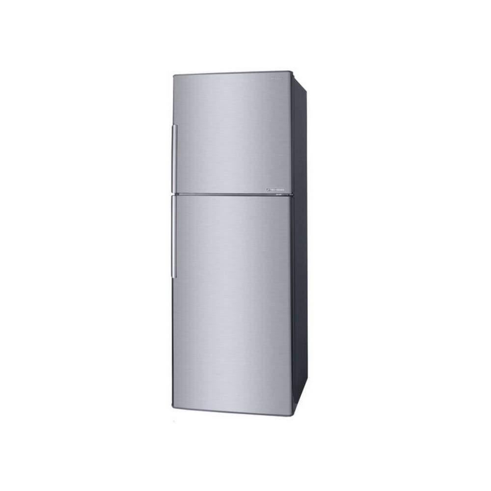 ด้านหน้าตู้เย็น Sharp รุ่น SJ-X330TC-SL