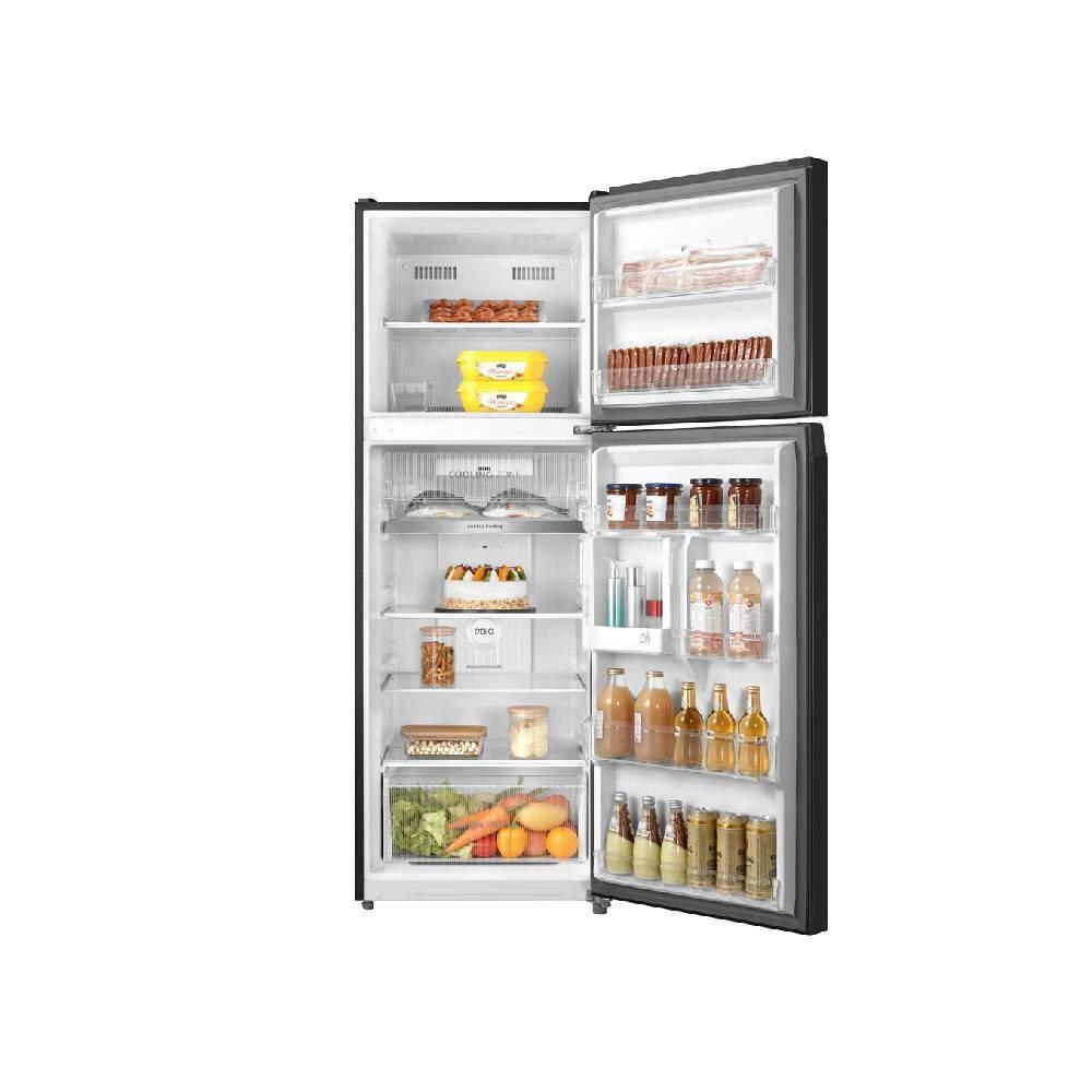 ด้านในตู้เย็น Toshiba รุ่น GR-RT416WE-PMT