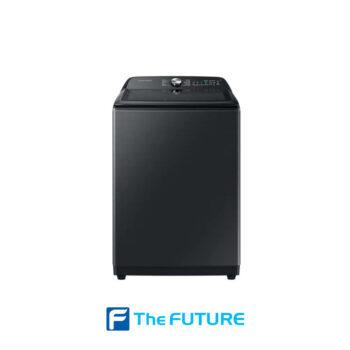เครื่องซักผ้าฝาบน Samsung รุ่น WA19A8376GV 19 กก. สีดำ